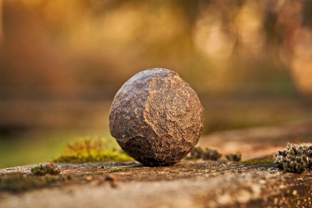 image of round stone
